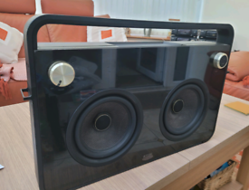 TDK 2-SPEAKER BOOMBOX AUDIO SYSTEM