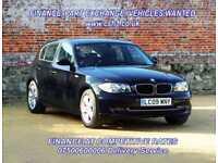2009 09 BMW 1 SERIES 2.0 116I SE 5D AUTO 121 BHP