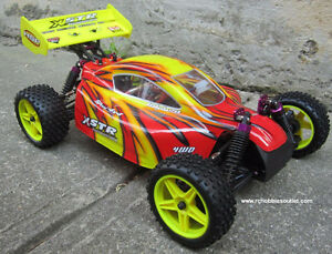 New RC Buggy/ Car 1/10 scale, Electric 4WD 2.4G  RTR 1Yr Warr.