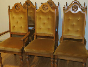Solid Oak Dining Chairs London Ontario image 2