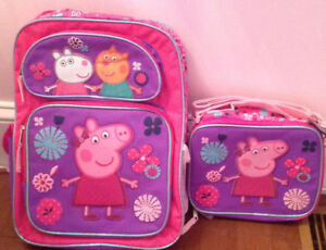 Peppa Pig fan? New, with tags, Peppa Pig backpack!!!