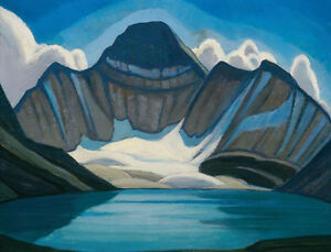 "Lawren Harris ""Lake McArthur, Rocky Mountains"" framed artwork"
