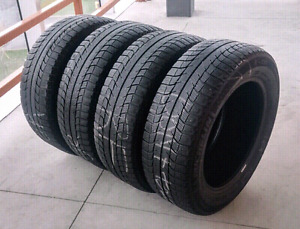 Set of four 225/60/17 Michelin X-Ice, 7/32nd tread