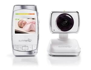 NEW Summer Infant 29253 Baby Secure Pan/Scan/Zoom Video-Monitor