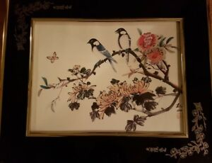 Windsor Décor of Canada - Oriental Birds and Flowers Picture