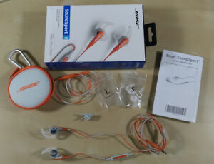 Bose Sound Sport In-Ear Sport Headphones with Mic Apple iOS