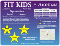 Fit Kids Gymnastics in Brampton