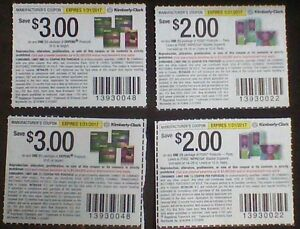 PPU - 4 Depend and Poise Coupons