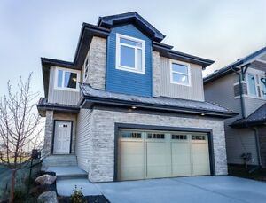 NEW 2032 sq ft 4 BEDROOM BEAUTY WITH DBL ATTACHED!! Edmonton Edmonton Area image 1