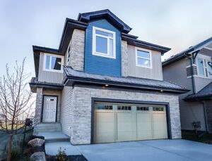 NEW 2032 sq ft 4 BEDROOM BEAUTY WITH DBL ATTACHED--- 487K!!!!! Edmonton Edmonton Area image 1