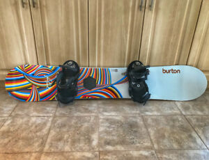 Burton Feelgood Snowboard and Bindings $150 OBO