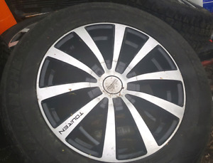 215 65 R17 Tires with rims