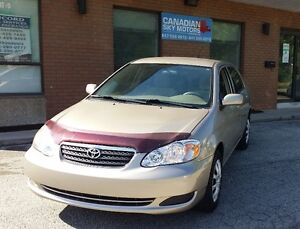 2007 Toyota Corolla - LOW Kilometers - Safety Certified !