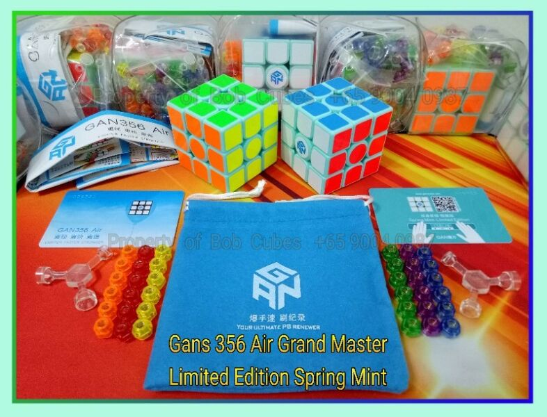 = Gans 356 Air Grand Master LIMITED EDITION SPRING MINT in Singapore