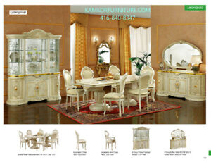 Dining room sets, Chairs,Tables, 2 & 4-Door Buffets