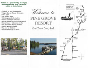 Serviced Seasonal RV lots and Cabin Rentals EAST TROUT LAKE, SK