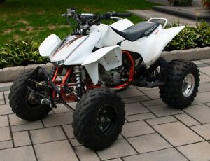 4 ROUES HONDA TRX450R 2012 STOCK
