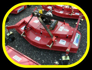 """5' / 60""""  Finishing Mowers, NEW with warranty & IN STOCK NOW"""