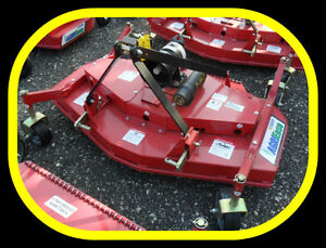 5' and 6' Finishing Mowers, NEW with warranty & IN STOCK NOW !!!