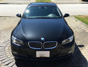 2008 BMW 335XI Coupe - Black with M Series Alloy Wheels