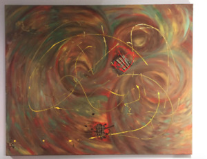 Beautiful Abstract Art Painting SALE