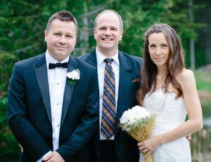 Célébrant Daniel McCrae | Mariage exceptionel et heureux |!