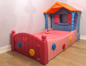 Little Tikes twin size Lalaloopsy bed - Kids Twin Bed -Girls Bed