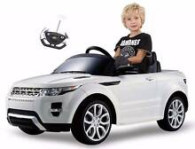 Ride-On (Ride On) Child Car Land Rover Evoque White Remote Ctrl Auburn Auburn Area Preview