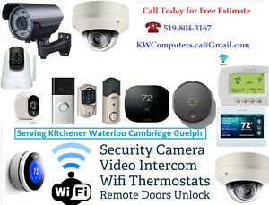 Surveillance Camera - Remote Door Openers - Video Doorbells....