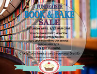BOOK AND BAKE SALE - christian books - something for everyone!