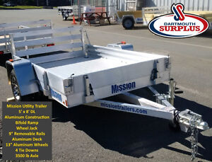 Mission All Aluminum Utility Trailers
