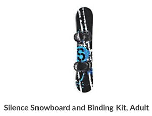 Brand new 140cm & 160cm snowboards with bindings