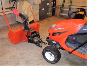 Kubota Diesel Lawn and Garden Tractor St. John's Newfoundland image 7
