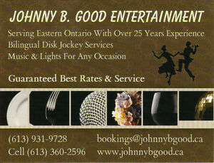 Johnny B. Good Entertainment - DJ Cornwall Ontario image 1