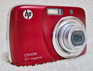 HP CW450t Digital Camera 12.1 megapixels and 4X Optical Zoom