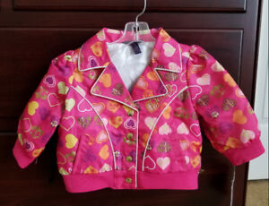 Cute Pink Jacket for Toddler