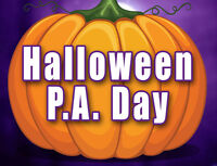 Halloween Create-Your-Costume PA Day
