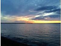 CHEAP FIRST CARAVAN, Steeple Bay, Clacton, Mersea, Essex, Hit the Link-->