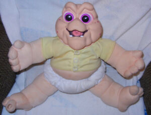 Vintage Baby Sinclair Talking Plush Doll