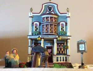 Dept 56 New England Village - Springfield Studios -REDUCED