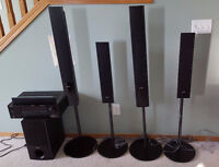 Sound system - Sony speakers - Yamaha receiver