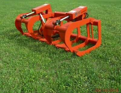 2019 Mtl Attachments Hd 66 Skid Steer Root Grapple-universal Fit - Free Ship