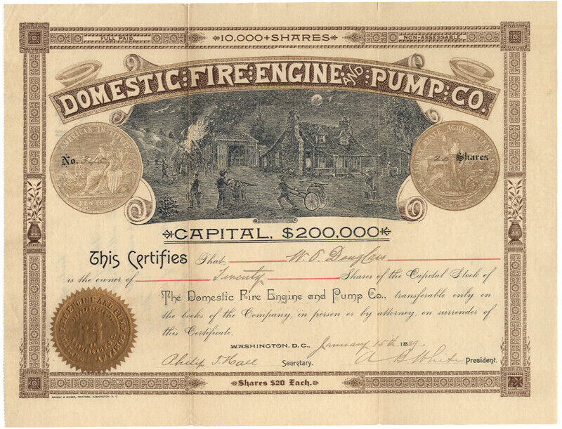 Domestic Fire Engine and Pump Co.