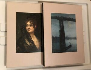 2 Time Life Library of Art Books, Whistler and Goya