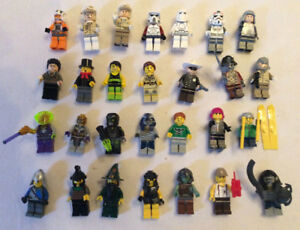 Lego Minifigures from Sets and Series (4 for $10)