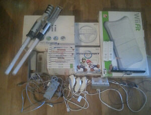 Wii Console and Accessories $200 OBO