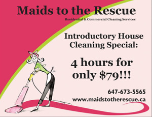 House Cleaning Special for only $79!!!