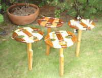 Wine picnic tables