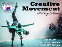 OMTOWN YOGA presents Creative Movement Workshop