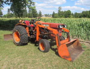 Kubota L175 Compact tractor - NEW REDUCED PRICE